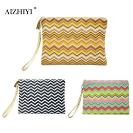 $enCountryForm.capitalKeyWord Australia - Women Bohemia Weave Clutch Portable Waterproof Zipper Envelope Beach Bag Mini Female Ladies Handbag Women Girls Make up Bag 2019 #301598