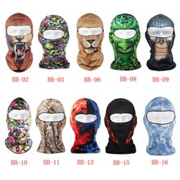 animal face masks Australia - Motorcycle Face Mask 3D Animal Face Mask Windproof Cycling Head Scarf Neck Warmer Full Ski Balaclava Headband 30ST02