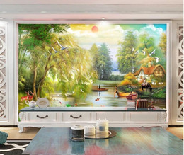 $enCountryForm.capitalKeyWord UK - HD Oil Painting Landscape Landscape Wall Decorative Painting Blackout curtain