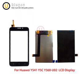 $enCountryForm.capitalKeyWord Australia - High Quality White Black Sensor For Huawei Ascend Y5 Y5C Y541 Y541-U02 Monitor LCD Display + Digitizer Touch Screen Replacement