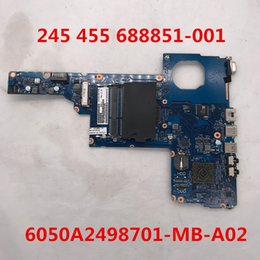 Hp laptop motHerboard test online shopping - High quality for Laptop motherboard A2498701 MB A02 Intel Hm65 DDR3 full Tested