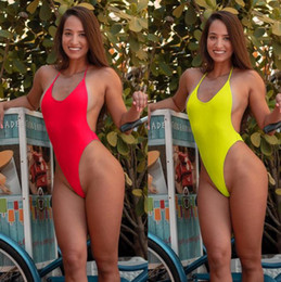 Swimsuits Sold Wholesale Australia - New European and American Pure Sexy Bikini Swimsuits Best Selling Women's Connected Swimsuits in 2019