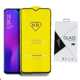 Discount tempered glass iphone retail pack - Retail Packing Full Cover 6D 9D Tempered Glass Screen Protector AB Glue Edge to Edge for IPHONE XR XS XS MAX 6 7 8 PLUS