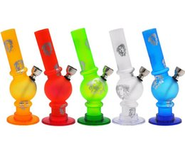"acrylic water glasses Australia - ""Peace"" Plastic Acrylic Bong Herb Grinder Smoking Water Pipe hookah Glass Bong Filter Wax Oil Rig Tobacco Cigarette Pipes Dry Herb"
