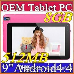 "$enCountryForm.capitalKeyWord Australia - Cheapest 9 inch 9"" Dual camera Quad Core Android 4.4 KitKat Tablet PC 512MB 8GB 1.2GHz Allwinner A33 Bluetooth B-9PB"