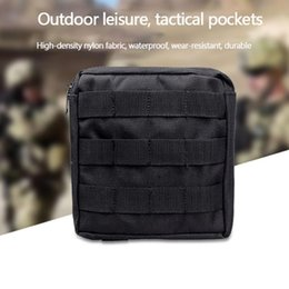 survival tool pack Canada - Nylon Molle Pouch Bag Waist Pack Tool Gear Survival Waterproof Outdoor Utility Phone Case Hunting Hiking Bags