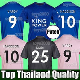 Washed silk online shopping - 19 VARDY Leicester soccer jersey city football shirt soccer tops kits MAGUIRE MADDISON TIELEMANS NDIDI AYOZE RICARDO ALBRIGHTON
