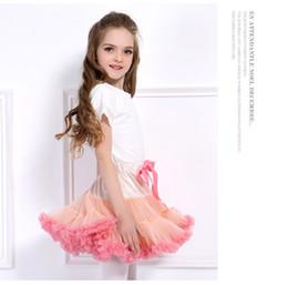 $enCountryForm.capitalKeyWord Australia - 20pcs Baby Girls Tutu Skirt Ballerina Pettiskirt Layer Fluffy Children Ballet Skirts For Party Dance Princess Girl Tulle Miniskirt Boutique