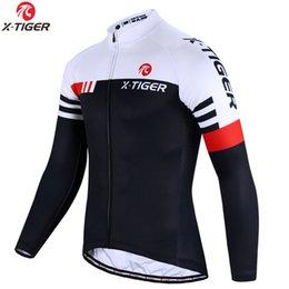 X-TIGER calidad superior de ciclismo Jersey manga larga de bicicletas MTB ropa de ciclo de la bici de montaña Sportswear ciclo la ropa en venta