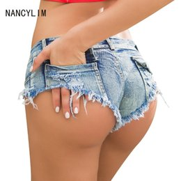 Hot Sale Top Quality New Women's Fashion Sexy Denim Hole Burr Jeans Lady Short Pants Low Waist Girl Shorts Seaside Hot Pants
