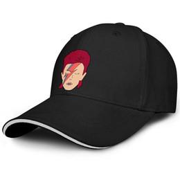 $enCountryForm.capitalKeyWord Australia - Classic Men Women ball cap David Bowie Cartoon custom baseball hats Adult hats 100% Cotton