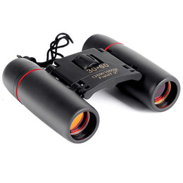 x vision Australia - New Mini Binoculars Folding With Night Vision Binoculars Zoom Optical Len Telescope for Bird Watching Travelling Hunting Camping