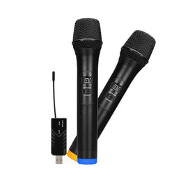 $enCountryForm.capitalKeyWord UK - Wireless Microphone UHF Dual Handheld Dynamic Microphone with bluetooth Receiver and 3.5mm Adaptor Selectable Channels for family KTV Karaok