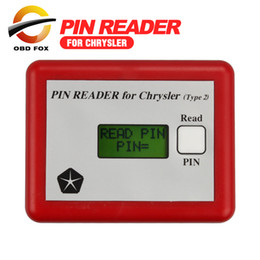 Engine Immobilizer System Australia - 2017 Professional Pin Code Reader for Chrysler Auto Immobilizer Pin Code Key Programmer Read out Vehcile free shipping