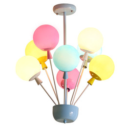 Kitchen Colors Australia - Dia 25cm 6 Colors Balloon Acrylic Pendant Light Fixture Home Deco Bedroom Children Room E27 Energy-saving Lamps Pendant Lamp