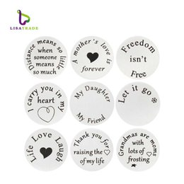 $enCountryForm.capitalKeyWord Australia - window plate 5PCS wholesale Floating Charm Window Plate fit 30mm Locket Jewelry pendants Stainless Steel LSFP02-27-35*5