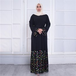 $enCountryForm.capitalKeyWord Australia - Kaftans For Women Plus Size 2019 Abaya Dubai Bangladesh Turkey Embroidery Hijab Muslim Dress Qatar Robe Turkish Islamic Clothing