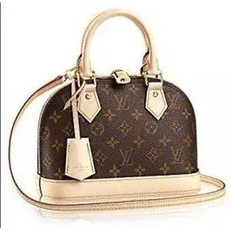 b1ddfccb08fc LOUIS VUITTON SUPREME ALMA BB women Old Flower Checkerboard Shell Bag  Shoulder bag MICHAEL 0 KOR CLUTCH Crossbody bag classic Handbag LV YSL PRADA