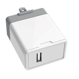 $enCountryForm.capitalKeyWord NZ - High quality mobile phone charger QC 3.0 portable USB travel charger US plug Charging Block Brick