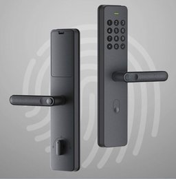 Ingrosso Xiaomi youpin maniglia Smart Lock Xiaoda elettronica di impronte digitali Intellgent porta con serratura Keyless digitale intelligente Serrature Disponibile per Mijia