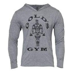 $enCountryForm.capitalKeyWord Australia - Men's Gym Hoodie Long Sleeve Bodybuilding Hooded Men's Sports Vest Muscle Shirt Cotton Assassin Gold Letter Print Sweatshirt