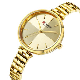 wristwatch curren Australia - Hot Sale Women Bracelet Watch Top Brand CURREN Female Quartz Women Watches Fashion Clock Ladies Wristwatch Waterproof Watches