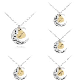 round pendant necklace engraved UK - 100% Real 925 Sterling Silver Jewelry Retro Fashion Round Engraved Letter Pendant Necklace For Women Lady Daughter Gift#960