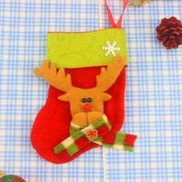 $enCountryForm.capitalKeyWord Australia - Christmas Stockings Santa Claus Gift Christmas Tree Hanging Ornament Decoration Bags Candy Sock Snowman Reindeer Festival Supplies