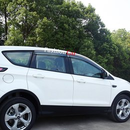 Discount ford escape cars - For Ford Escape Kuga 2013 2014 2015 2016 2017 2018 Car Window Visor Vent Shade Rain Sun Wind Guard Trim