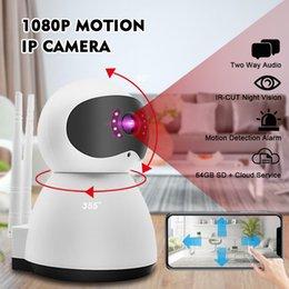 Audio Surveillance Infrared Australia - HD 1080P Mini Home Security IP Camera Two Way Audio Wireless Surveillance Video Wifi Cam Night Vision CCTV Camera Baby Monitor