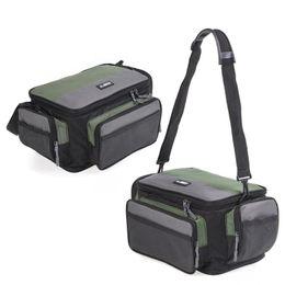 $enCountryForm.capitalKeyWord Australia - 42*26*17cm Men Women Fishing Bag Oxford Multifunctional Outdoor Waist Shoulder Bags Reel Lure Carrier Storage Bag Fishing Tackle #28383