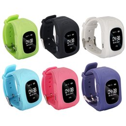 $enCountryForm.capitalKeyWord Australia - 10 pcs lot Q50 GPS Smart Phone Watch Children Kids Wristwatch GSM GPRS Locator Tracker Anti-Lost Smartwatch Children