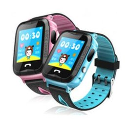 Kids Smart Gps Tracking Watch Australia - NEW V6G Kids Smart Watch Ip67 Waterproof GPS Tracker SOS Call Camera tracking alarm mobile positioning Smart watches for Kid Child