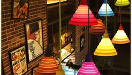 $enCountryForm.capitalKeyWord Australia - Modern Pendant Lights Fashion Simple Colorful Silicone Lamps DIY Design Changeable lampshade Twelve colors E27 Holder
