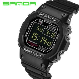 $enCountryForm.capitalKeyWord Australia - SANDA 329 Wrist Watch Men Women G Style Waterproof Sports Watch Men's Luxury Digital Watches Masculino Relogio