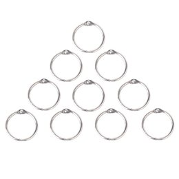 clamps rings 2019 - 10 x Clamp Rings for Scrapbooks Albums - 25mm discount clamps rings