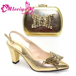$enCountryForm.capitalKeyWord Australia - New Fashion Italian Shoes with Matching Bags for Wedding Italy Nigerian Shoes and Matching Bags Woman Italian Shoes and Bags Set