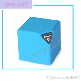 $enCountryForm.capitalKeyWord Australia - Promotion Mini X3 Square Bluetooth Wireless Speaker Woofer Radio Fm Usb With Mic Enceinte Bluetooth Portable Puissant