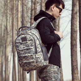 art chickens Australia - Men And Women Outdoor Sport Travel Camouflage Both Shoulders Package Will Capacity Decompression Spinal 3p Tactic Backpack Eat Chicken Three