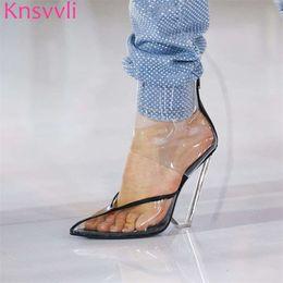 13848f222 Knsvvli New Cristal Cunha Ankle Boots De Salto Alto Mulheres Pontudente Toe  Sexy Runway Sapatos Cheios de Strass Sapatos Mulheres de Luxo