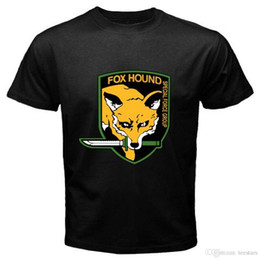 $enCountryForm.capitalKeyWord Australia - 2018 Short Sleeve Cotton T Shirts Man Clothing Metal Gear Solid Fox Hound Special Forces Group Mens Black T-Shirt Size S To 3XL