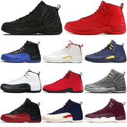 $enCountryForm.capitalKeyWord Australia - New Game Royal FIBA 12 12s Basketball Men shoes Winterized Gym red Bulls black Gamma blue designer Athletic mens trainers sports sneakers