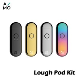 China OVNS AIMO Lough Pod Vape Kit With Atomizer Adapter 400mAh & 1.0ml Pod Cartridge Ceramic Coil Pod System Device Authentic E-Cigs vs JC01 cheap system ceramics suppliers