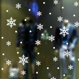 $enCountryForm.capitalKeyWord NZ - Newest Snow Flakes Window Stickers Snowflake Wall Stickers Christmas Window Wall Decals Xmas Christmas Decoration D19011702