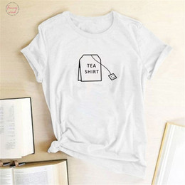 quality graphic tees Canada - High Quality Printed Humor Tea Shirt Fashion Cute Harajuku Ulzzang Tumblr Kawaii Femme Tumblr Graphic T Shirt O Neck Tees Tops