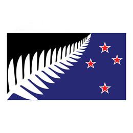 New Zealand Silver Fern Proposed Flag Sticker 7 Years Vinyl New Zealand Kiwi Applique Decoration Accessories