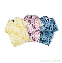 $enCountryForm.capitalKeyWord Australia - Designer mens fashion T-shirts shaped digital tie-dye classic shirts hip-hop sports loose breathable wen women girls tees tops free shipping