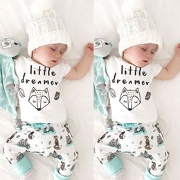 cute boy t outfits UK - Baby Boys Clothes Set Pudcoco Newborn Toddler Kids Girls Cute Printed T-shirt Tops+Floral Pant 2PCS Outfits Clothing