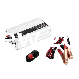 12v car ac UK - Freeshipping DC 12V to AC 110V Portable Car Power Inverter Charger Converter 1000W WATT