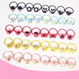 $enCountryForm.capitalKeyWord Australia - Children's accessories cat head iron box cartoon hair rope does not hurt hair small rubber band set girl baby head rope hair ring